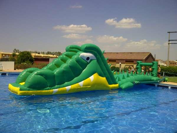 Hinchables acu ticos para piscinas alquiler para eventos y fiestas - Hinchables de agua para piscinas ...